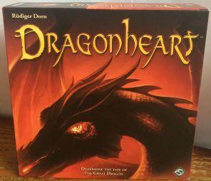 DRAGONHEART BOARD GAME - RUDIGER DORN - KOSMOS - FANTASY FLIGHT GAMES - COMPLETE VGC