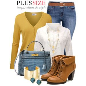 Casual Work Outfit -- #Plus Size