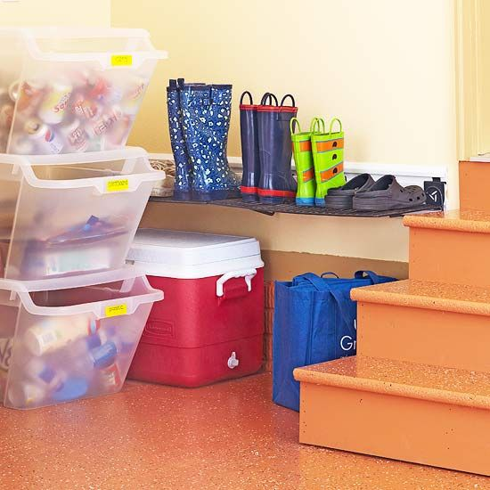 Room by room organization tips recycling station the for Recycling organization ideas
