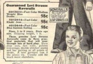 5 Things You Didn't Know About Levi's® | Ancestry.com http://blogs.ancestry.com/cm/2013/05/20/5-things-you-didnt-know-about-levis/