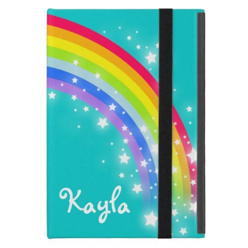 wholesale dealer a188b 5b89e Rainbow kids girls name ipad mini powis case   Zazzle.com   iPAD ...