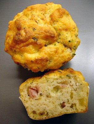 Pikante Käse-Muffins