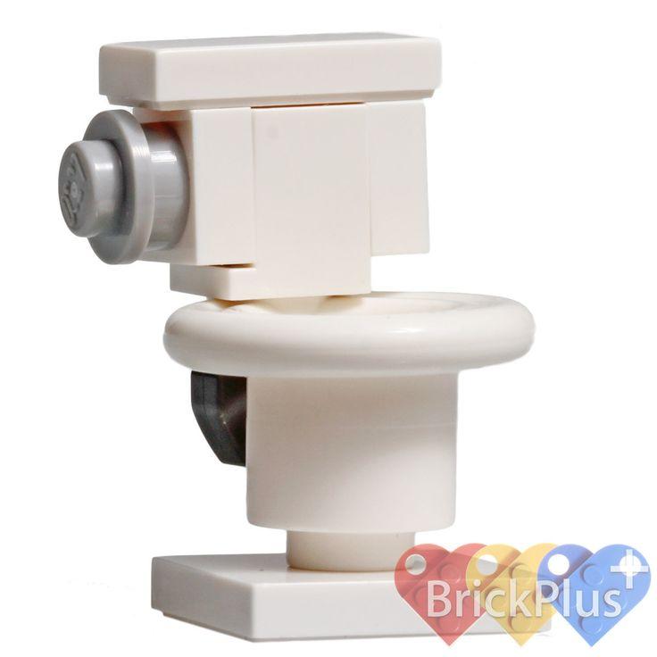 Lego City/Train Minifig White TOILET Girl/Boy Minifigure Bathroom Loo by Brick2you on Etsy