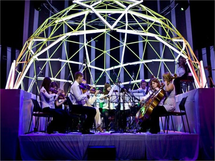 ICO6 dome stage decor