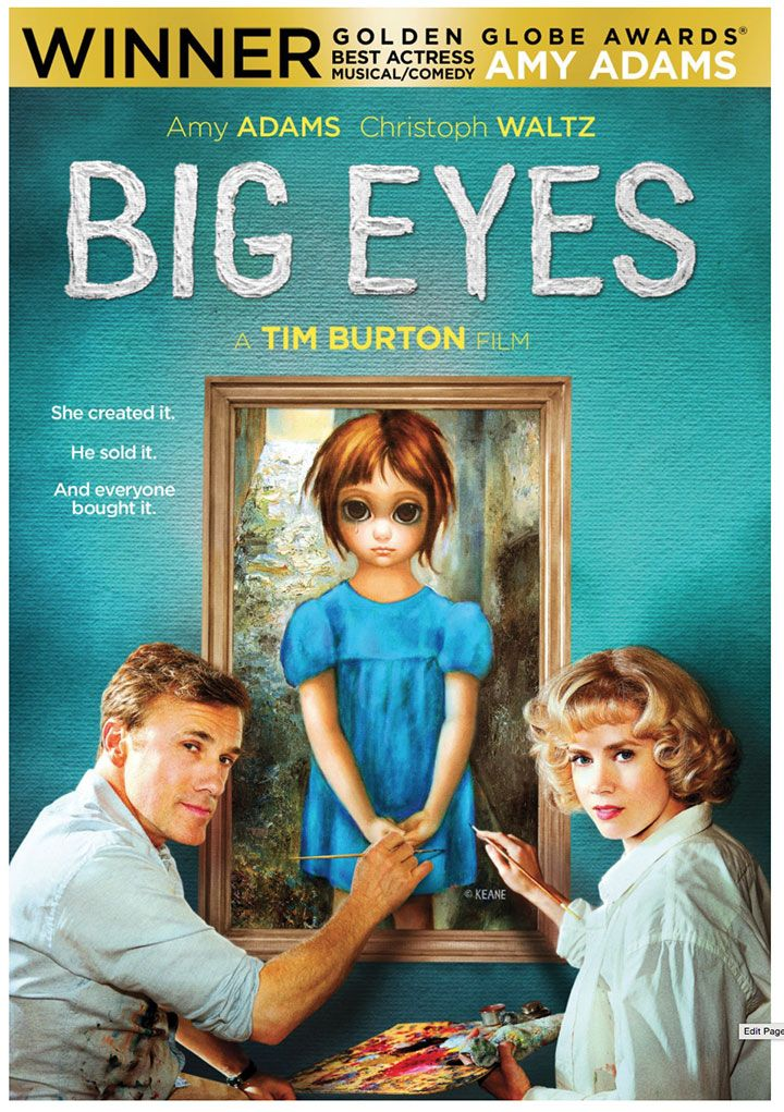 """I had """"Big Eyes"""" posters in my room growing up.  It was a love/hate relationship.  I watched the movie over the weekend - I would recommend it.  I especially loved the San Francisco North Beach scenes.  Tim Burton did a very good job as a period study...it is worth watching just for that.  I had no idea about the Margaret Ulbrich story, fascinating!  Check out http://en.wikipedia.org/wiki/Big_Eyes"""