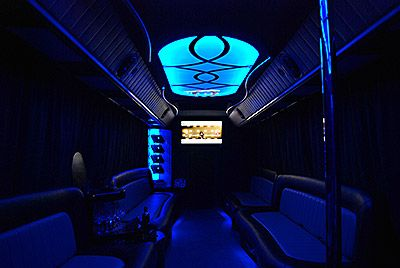 This is how party bus looks like inside