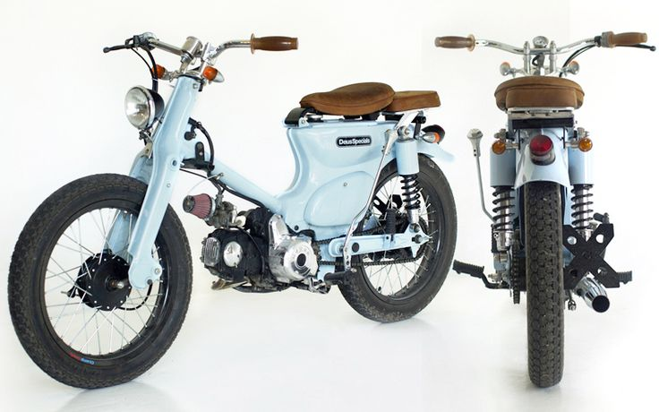 Honda C70 '76 :: I know it's not a bicycle, but there is a vintage sexiness to it.