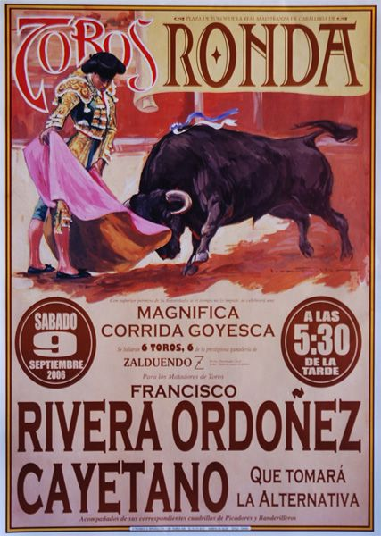 Cayetano Rivera Ordoñez | karens favourite matadors ...