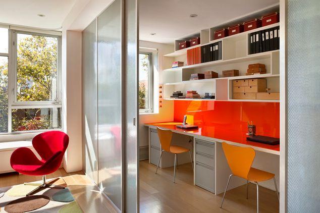 Contemporary Modern Study Room Design