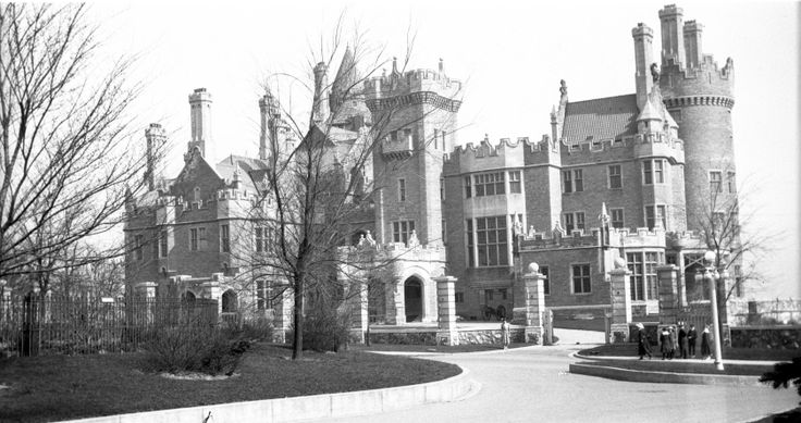 Casa Loma Castle in Toronto about 1919