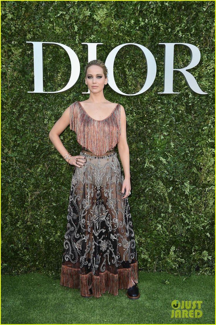 Jennifer Lawrence, Robert Pattinson, & Natalie Portman Step Out for Dior's Exhibition Launch