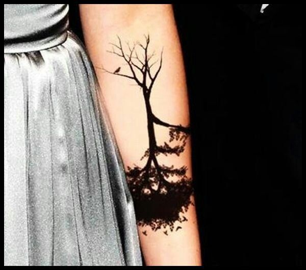 Tree tatto