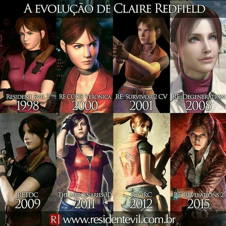 resident evil 2 claire 1998