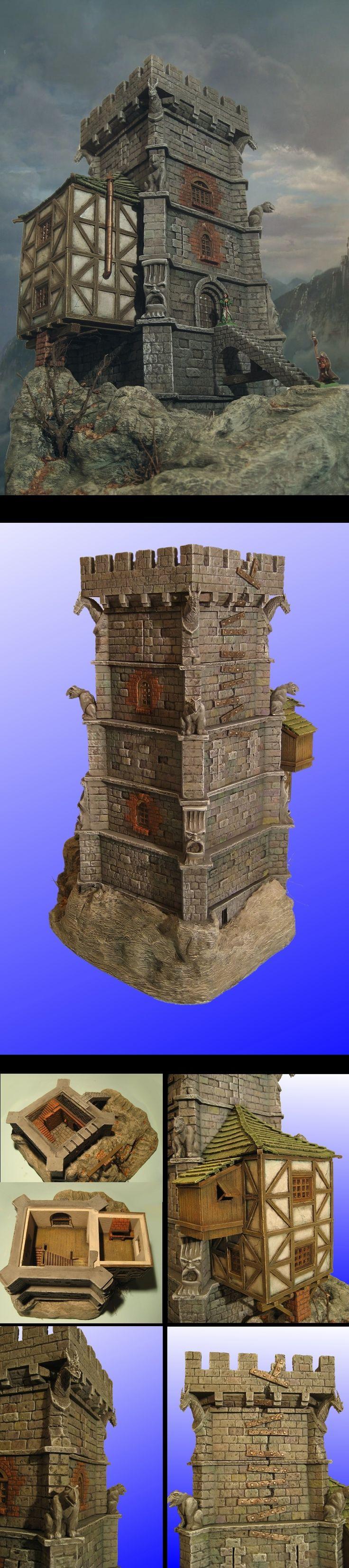Scratch built tower