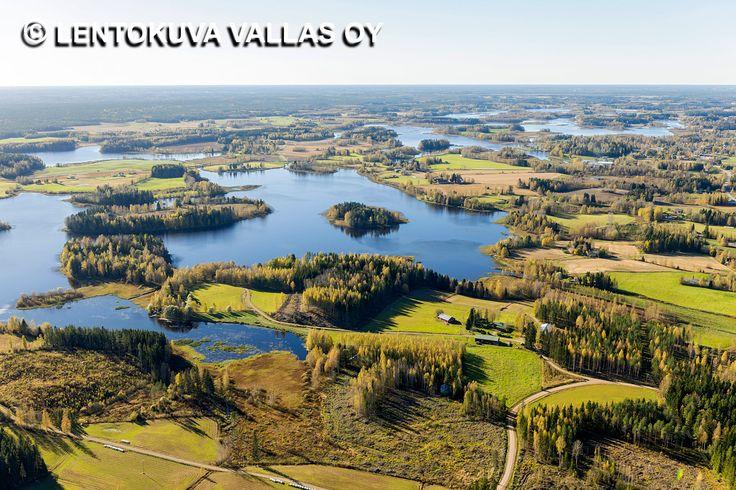 Jämijärvi, järvimaisema Ilmakuva: Lentokuva Vallas Oy