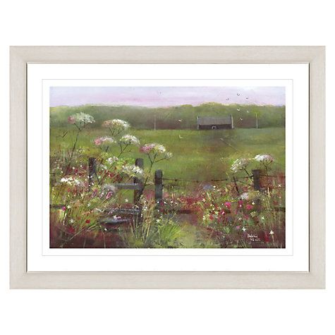 Buy Debbie Neill - Summer Dawn Framed Print, 87 x 67cm Online at johnlewis.com