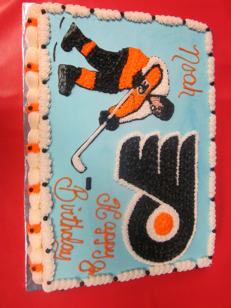 Flyers Wedding Cake Toppers wedding cake topper philadelph