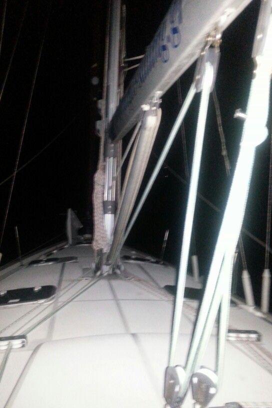 Sailing. ..