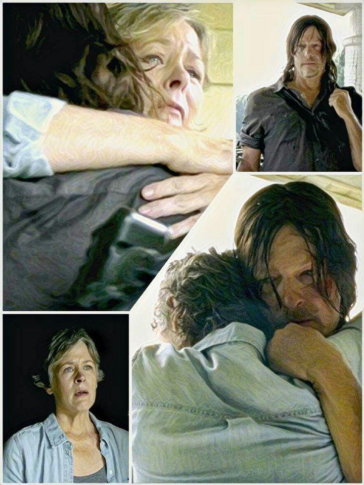 The Walking Dead 7x10 'New Best Friends' Daryl and Carol