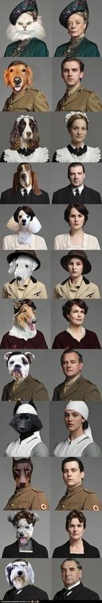 The cast of Downton Abbey as dogs. http://media-cache7.pinterest.com/upload/276127020873273195_Egx5C2G7_f.jpg caseybhen woof