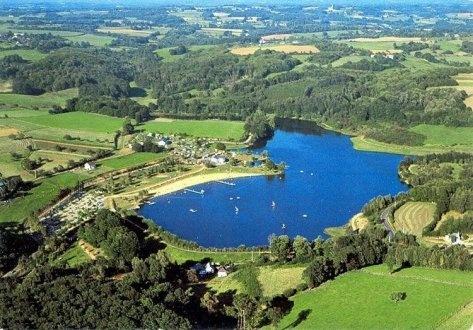 Le lac de Poncharal à Vigeois - favourite local walk