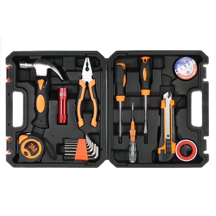 Multi-Purpose Versatile 18 pcs Hand Tools Set - Appliances Electrical Repair - 4DS-57MTK