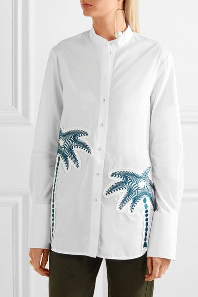 25 best ideas about embroidered shirts on pinterest for White cotton work shirts