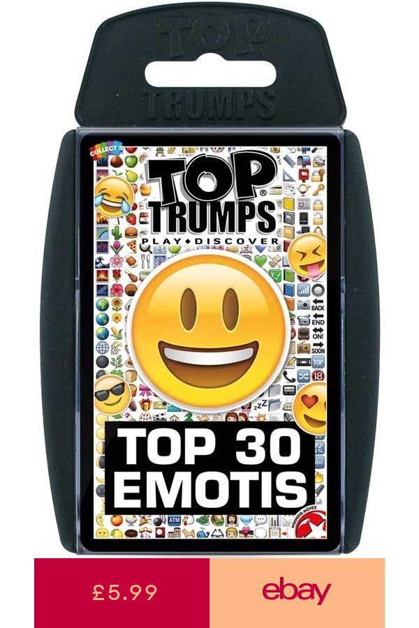 Top Trumps Card Games Contemporary Toys Games Ebay Top Trumps Card Games Trump Card