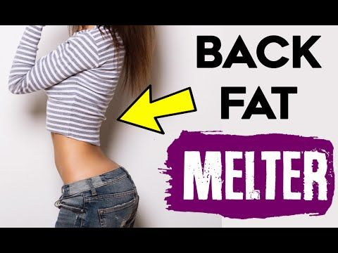 How To Lose Back Fat For Women | 4 FAT MELTING Back Exercises For Women! - YouTube