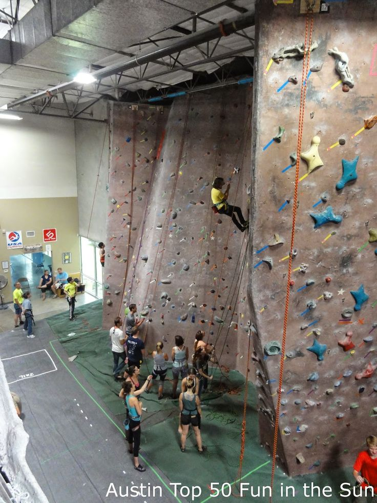 Austin Rock Gym - Austin\'s only indoor rock-climbing facility has ...