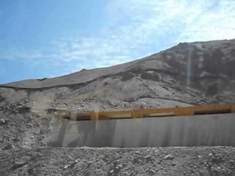 Sewell & Coya, Mina El Teniente (20130317). Mina de cobre cercana a la ciudad de Rancagua, donde actualmente habitan la mayor parte de sus trabajadores.
