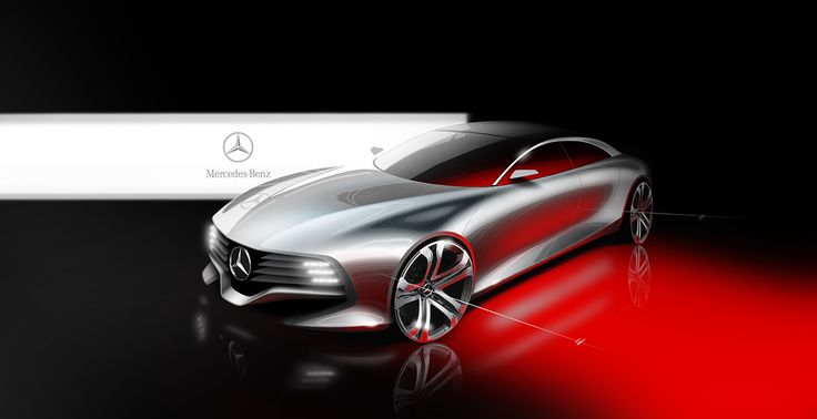 Mercedes e_tronic on Behance