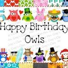 An open-ended bulletin board collection of birthday owls.  You will receive several different options to create a festive an owl-themed bulletin bo...