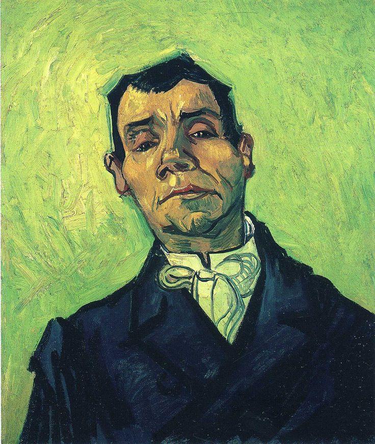 Portrait of a Man, 1888 Vincent van Gogh #montableau.com www.montableau.com
