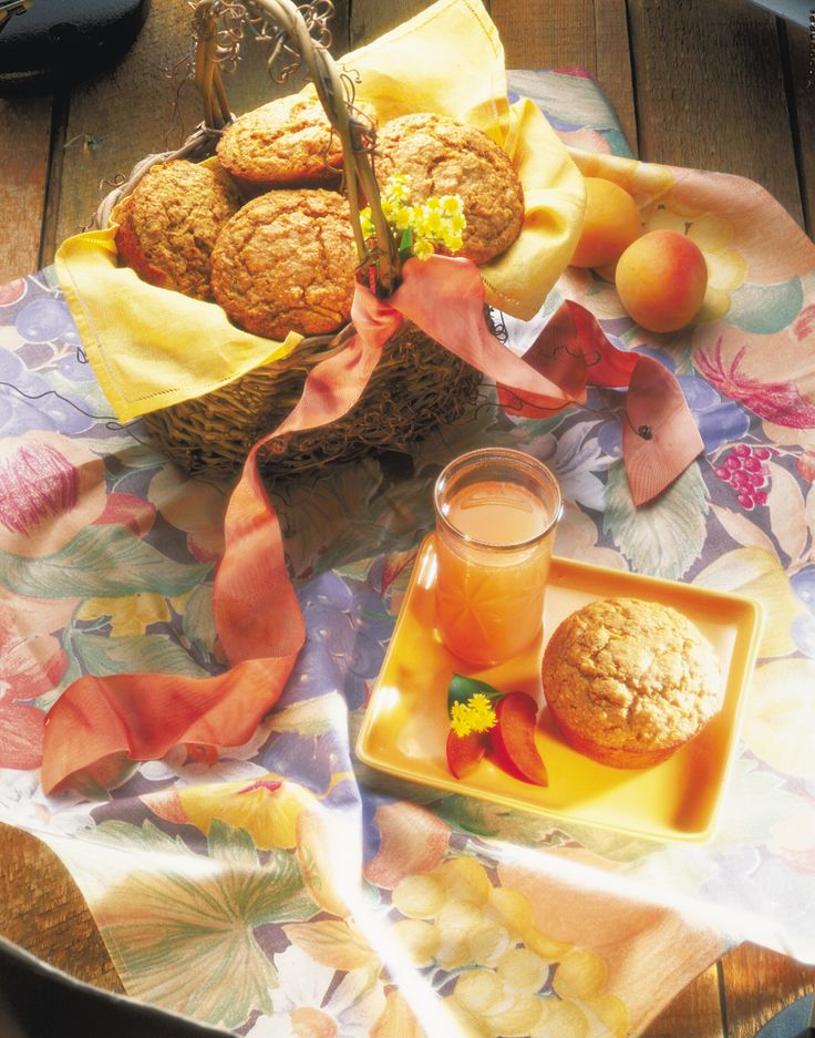 Like raisins, dates, and other dried fruits, apricots pack tons of concentrated flavor and sweetness into muffins. If apricots aren't a favorite, swap them, in this recipe, with equally delightful dried peaches or cherries.
