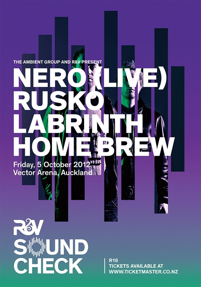 Rhythm and Vines SOUNDCHECK 2012 ft. Nero (Live) + Rusko + Labrinth + Home Brew - Friday, 5 October 2012