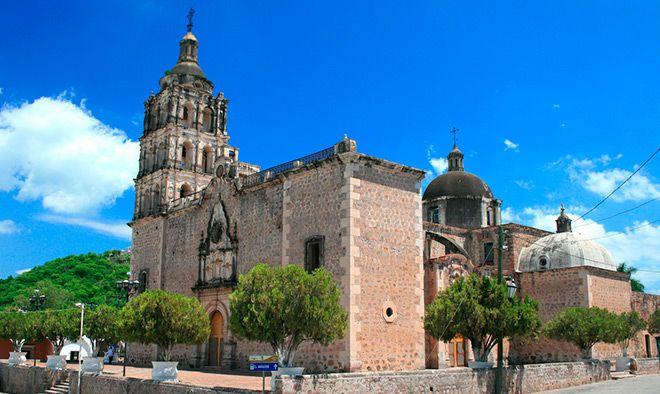 Mágica ciudad de plata en Álamos, Sonora