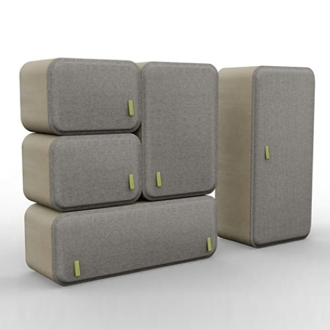 French Designer Ludovic Renson Has Designed A Collection Of Childrenu0027s  Furniture Made Of Wood And Felt