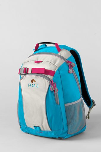 $39 Kids' Solid ClassMate® Medium Backpack from Lands' End