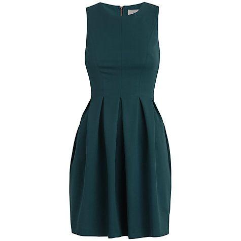Buy Almari Panel Dress, Teal Online at johnlewis.com