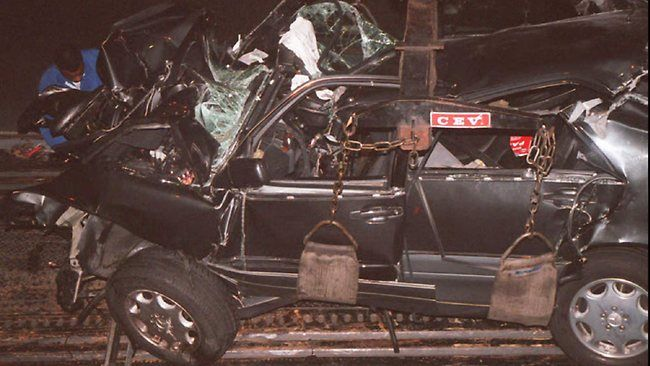 Spotlight On: Princess Diana, A Biography - Fatal crash after being chased by paparazzi August 31, 1997.