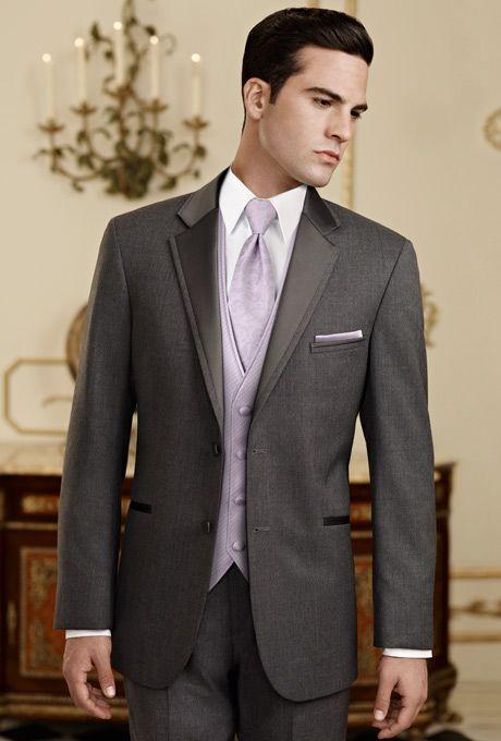 Jos. A. Bank Steel Grey Tuxedo Style 342
