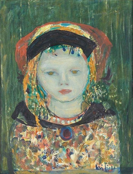 'Young girl' - Kai Fjell (1907–1989)