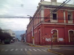 San Fernando Chile, edificio antiguo Liceo