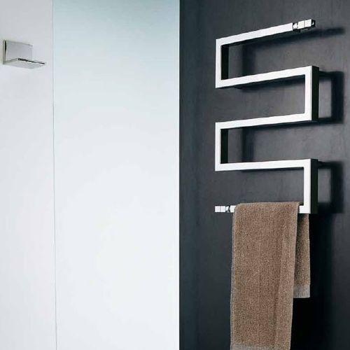 Radiador secatoallas de agua caliente / vertical / de acero inoxidable / de acero SNAKE 50 by F.Lucarelli & B. Rapisarda SCIROCCO H