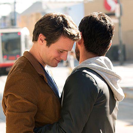 "Patrick Murray (Johnathon Groff) & Richie Donado (Raul Castillo) from ""Looking"""