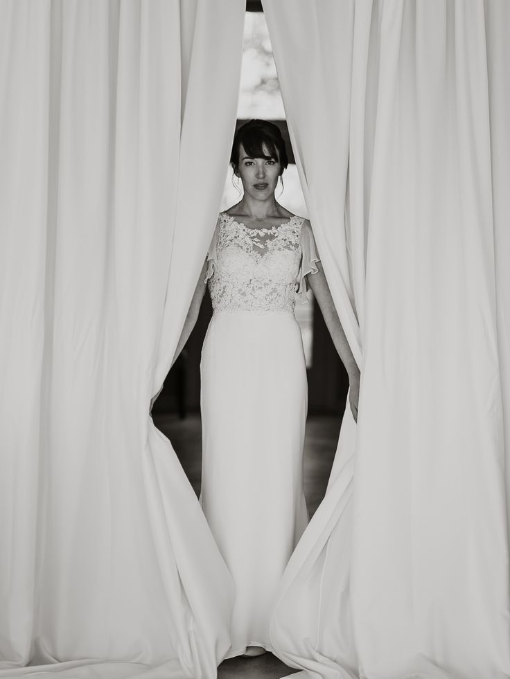 Sash and Bustle wedding gown; Le Belvedere wedding in Quebec; PHOTOGRAPHY Joel + Justyna Bedford;