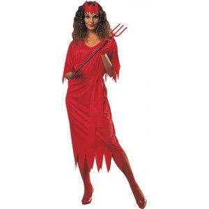 Déguisement diablesse femme Halloween, démon, diable