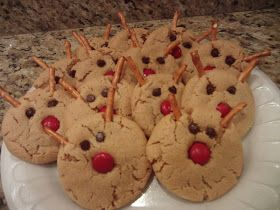 My Own Blog Review: Reindeer Peanut Butter Cookies
