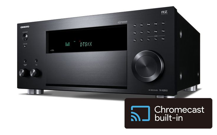 Les amplis home cinema Onkyo et Pioneer deviennent compatibles Chromecast via une mise à jour : https://www.on-mag.fr/index.php/video-hd/news/home-cinema/16249-les-amplis-home-cinema-onkyo-et-pioneer-deviennent-compatibles-chromecast-via-une-mise-a-jour